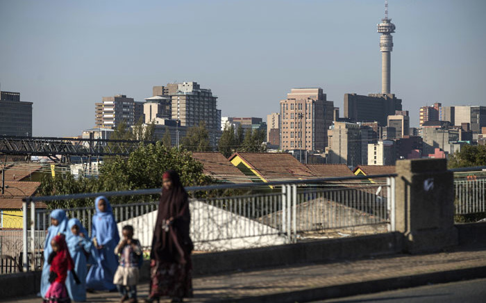 FILE: A view of Johannesburg's inner city. Picture: AFP.