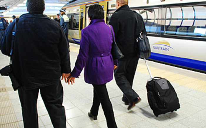 Commuters at the Gautrain. Picture: EWN