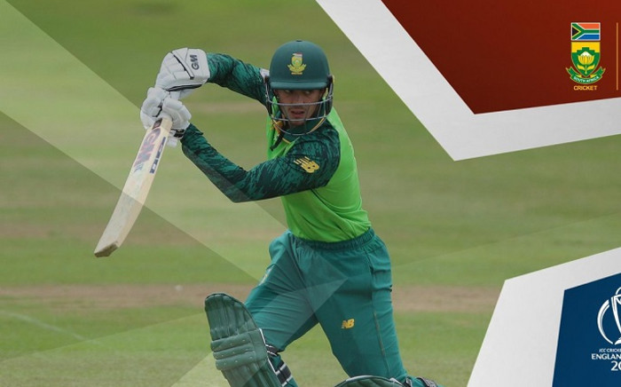 South Africa vs Afghanistan at the Cricket World Cup. Picture: OfficialCSA/Twitter.