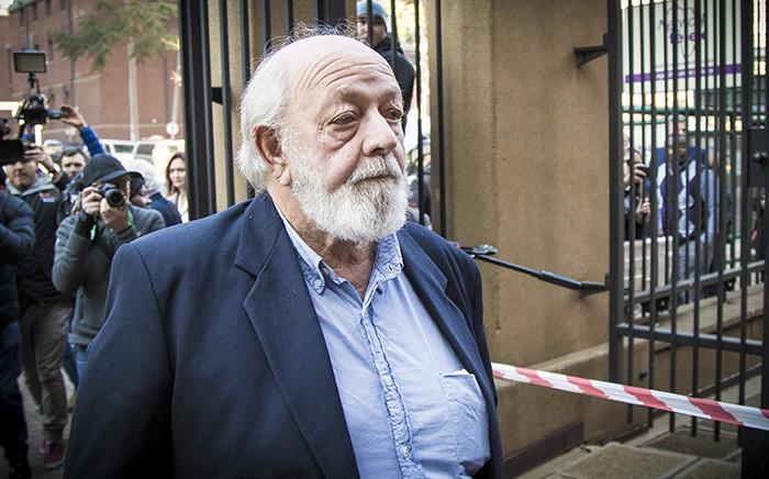 file: Reeva Steenkamp's father, Barry Steenkamp, arrives at the Pretoria High Court. Picture: Thomas Holder/EWN.