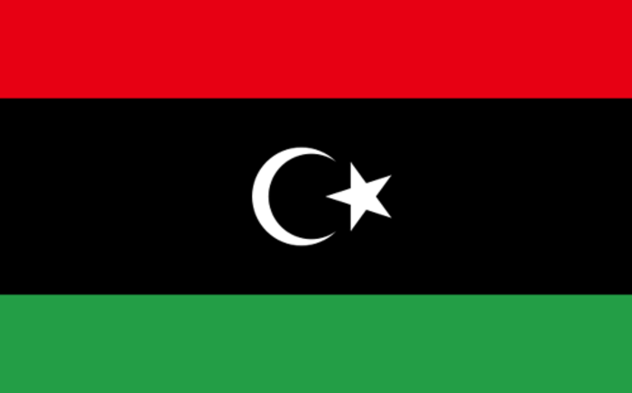 FILE:The Libyan flag. Picture: Wikimedia Commons.