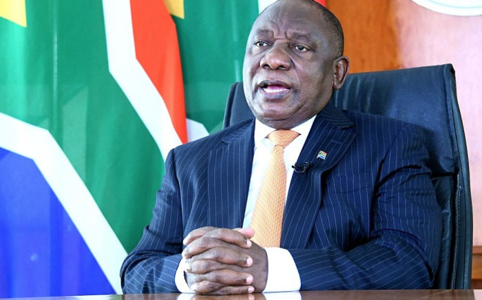 FILE: Cyril Ramaphosa. Picture: Picture: @PresidencyZA/Twitter