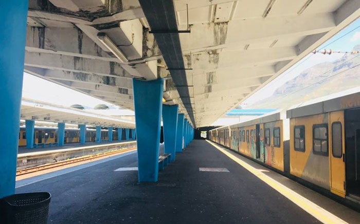 FILE: A general view of the Cape Town Train Station. Picture: Facebook.com.