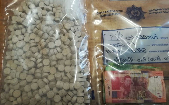 A 58-year-old man was arrested outside Kimberley with drugs worth over R20,000 in his possession. Picture: SAPS.
