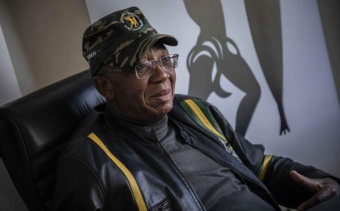 FILE: Umkhonto weSizwe Military Veterans' Association president Kebby Maphatsoe. Picture: Abigail Javier/Eyewitness News
