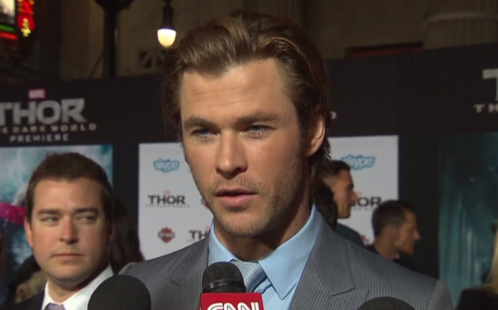Chris Hemsworth.  Picture: CNN