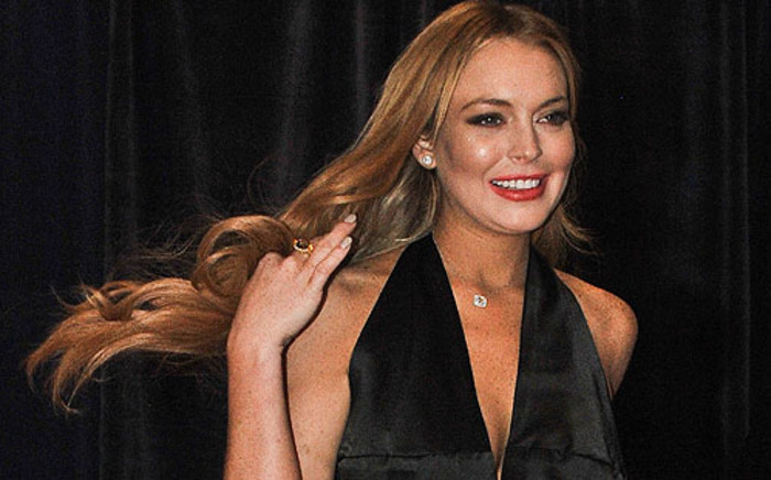 US actress Lindsay Lohan. Picture: AFP