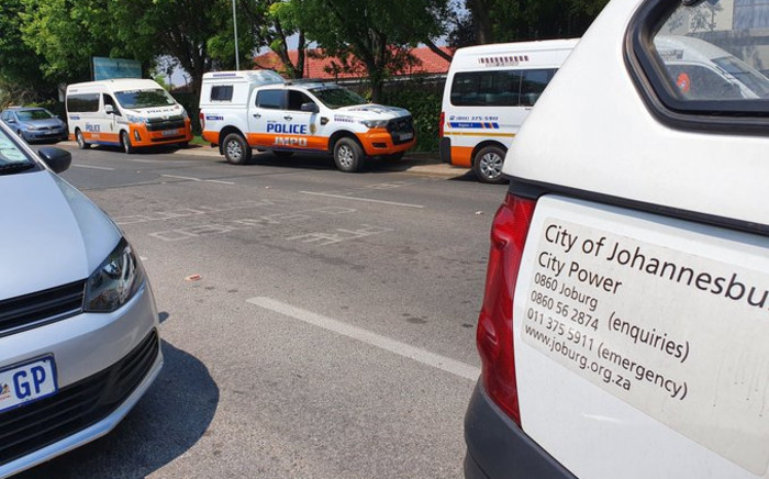 City Power officials conducted what they call 'surprise power cuts' in Dainfern, north of Johannesburg, on Wednesday 23 September 2020. Picture: Twitter/@CityPowerJhb