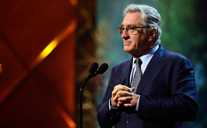 FILE: Actor Robert De Niro. Picture: AFP.