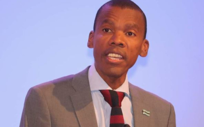 Botswana's Minister of Health and Wellness Lemogang Kwape. Picture: Twitter