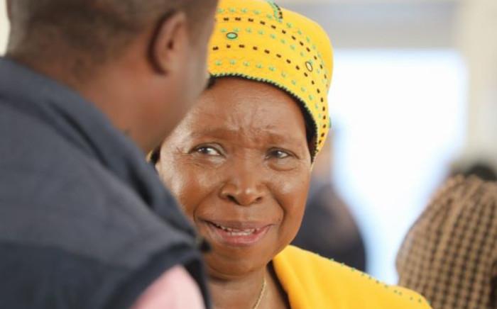 FILE: New Minister of Cooperative Governance and Traditional Affairs Dr Nkosazana Dlamini-Zuma. Picture: Kayleen Morgan/EWN.
