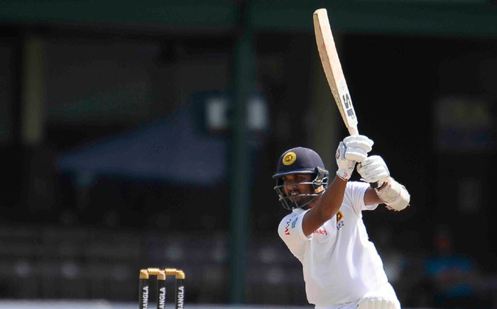 FILE: Sri Lanka's Dinesh Chandimal in action. Picture: Twitter/@OfficialSLC