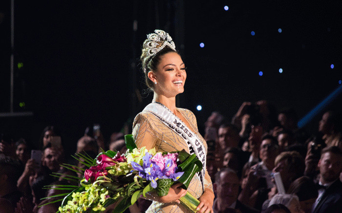 Demi-Leigh Nel-Peters, Miss South Africa 2017 is crowned Miss Universe on Sunday, 26 November from the AXIS at Planet Hollywood Resort & Casino in Las Vegas, NV. Picture: AFP