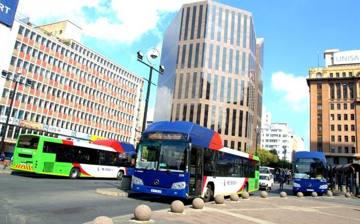 FILE: Metrobus driver affiliated to Demawusa strike on 6 June 2018. Picture: @JoburgMetrobus/Twitter.