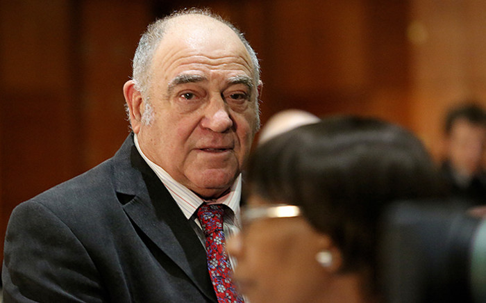 Former Deputy Defence Minister Ronnie Kasrils testified at the Seriti Commission of Inquiry, which is investigating allegations of fraud, corruption and irregularities in the multi-billion rand deal. Picture: Sebabatso Mosamo/EWN
