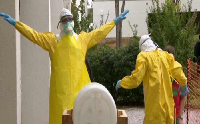The worst ever Ebola outbreak was one of the issues which has torpedoed global trust. Picture: CNN