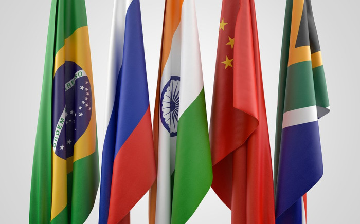The flags of the BRICS member nations. Picture: Pixabay.com