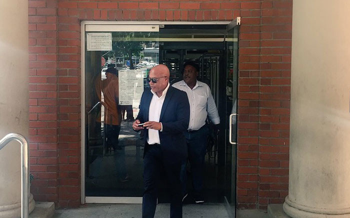 FILE: Tony Yengeni leaves the Cape Town Magistrates Court. Picture: Xolani Koyana/EWN.