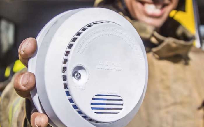 A general view of the smoke alarm device that has been launched by the Western Cape Environmental Affairs Department in an attempt to save lives of people living in the informal settlements. Picture: Facebook.com.