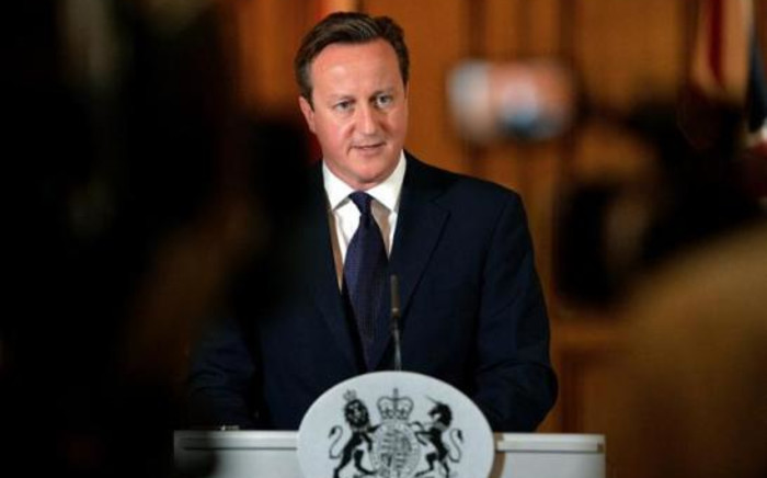 FILE: British Prime Minister David Cameron. Picture: AFP.