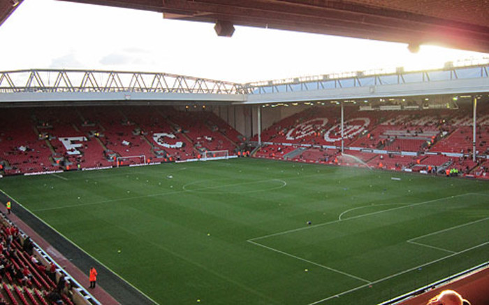 FILE: Liverpool's Anfield Stadium. Picture: LFC/Facebook.