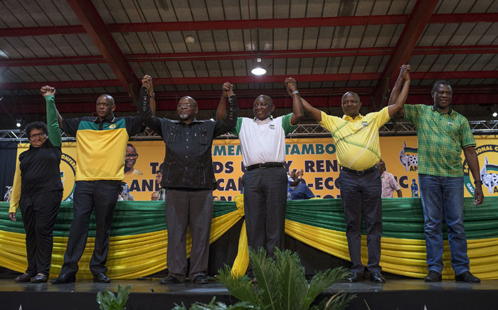 FILE: ANC Top Six. Picture: Ihsaan Haffejee/EWN
