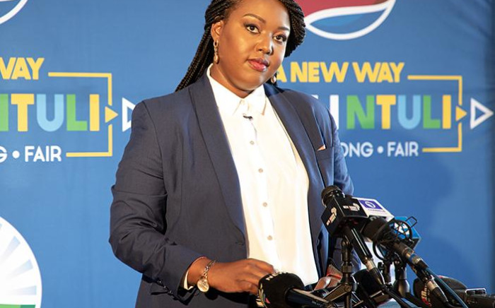 FILE: Mbali Ntuli officially announced her decision to run for the leadership role of the Democratic Alliance. Picture: Xanderleigh Dookey/EWN