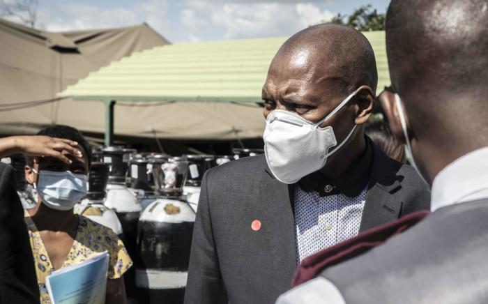 FILE: Health Minister Zweli Mkhize . Picture: Boikhutso Ntsoko/Eyewitness News.