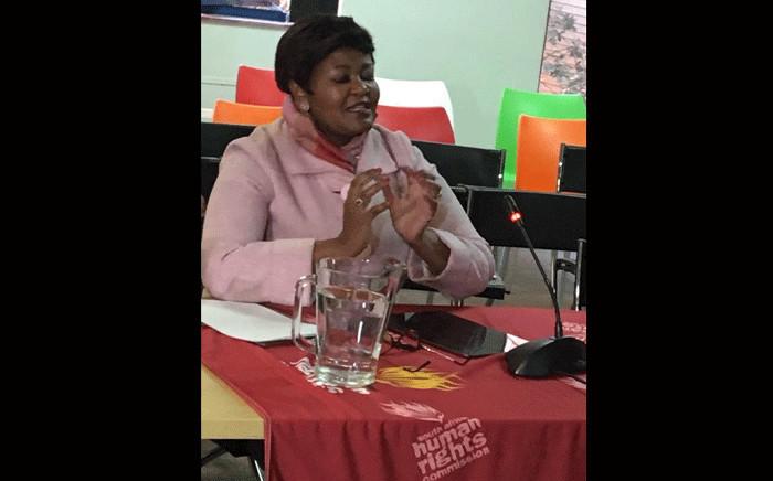 Head of the department of corporative governance in Gauteng Thandeka Mosa. Picture: Edwin Ntshidi/EWN.