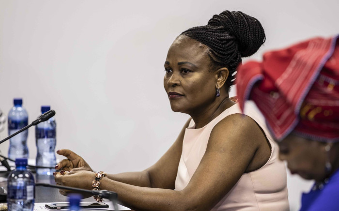 FILE: Public Protector Busisiwe Mkhwebane at the launch of the Cheryl Zondi foundation. Picture: Abigail Javier/EWN