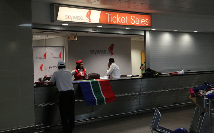 Skywise Airline will take to the skies on 26 March 2015, on the Johannesburg - Cape Town route. Picture: Kgothatso Mogale/EWN