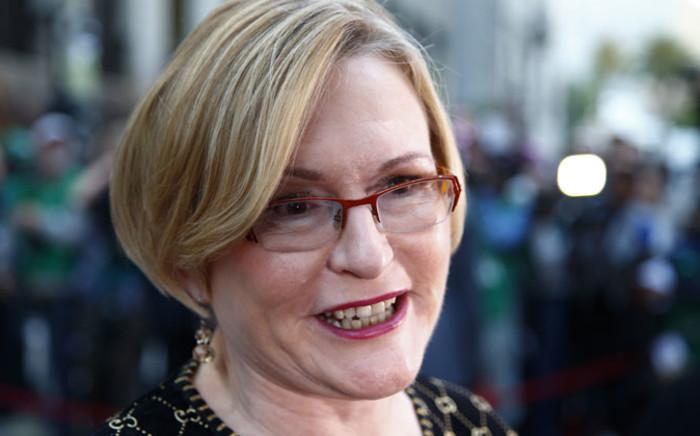 FILE: Western Cape Premier Helen Zille. Picture: EPA.