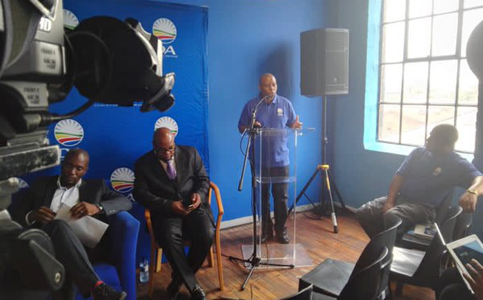 The Democratic Alliance (DA) has elected well-known businessman Herman Mashaba as its mayoral candidate for the upcoming Local Government Elections later this year. Picture: @Our_DA via Twitter.
