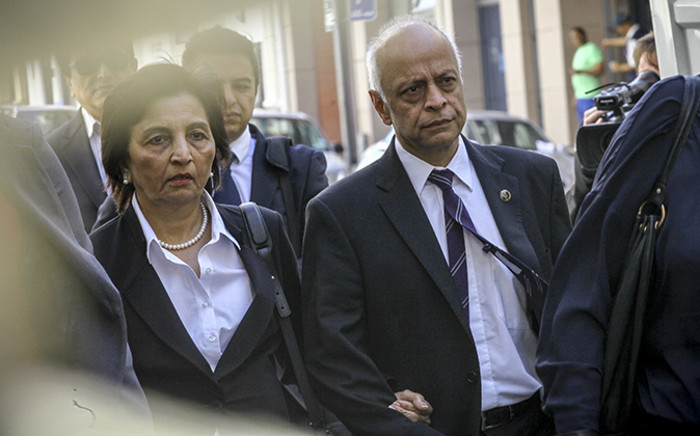 Shrien Dewani's parents and relatives arrving at the Western Cape High Court ahead of day two of his murder trial on 8 October 2014. Picture: Thomas Holder/EWN.