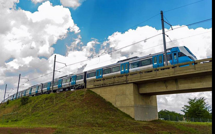 One of Prasa's new test trains to replace the aging Metrorail fleet. Picture: Department of Transport.