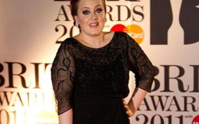 British singer Adele. Picture: AFP