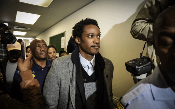 FILE: Duduzane Zuma leaves the court after being granted R100,000 bail on 9 July 2018. Picture: Thomas Holder/EWN