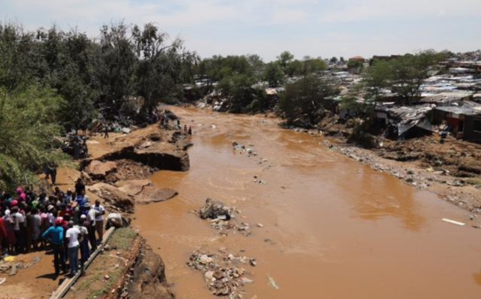 FILE: The Jukskei River in Alexandra pictured following floods in the area on 10 November 2016. Picture: Christa Eybers/EWN.