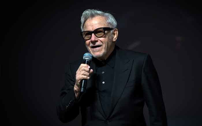 US actor and producer Harvey Keitel presents 'The Irishman' during the 18th edition of the Marrakesh International Film Festival on 2 December 2019. Picture: AFP