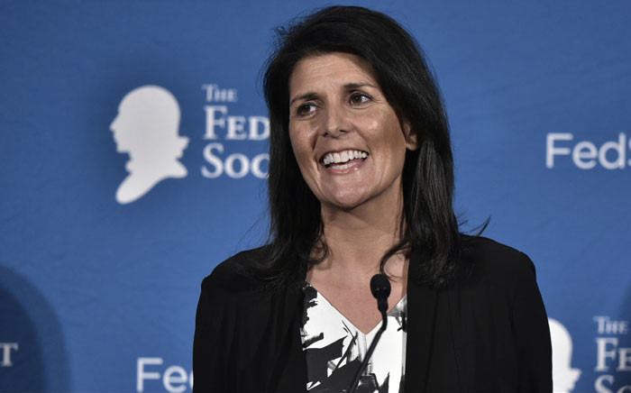 Nikki Haley is the US ambassador to the United Nations. Picture: AFP