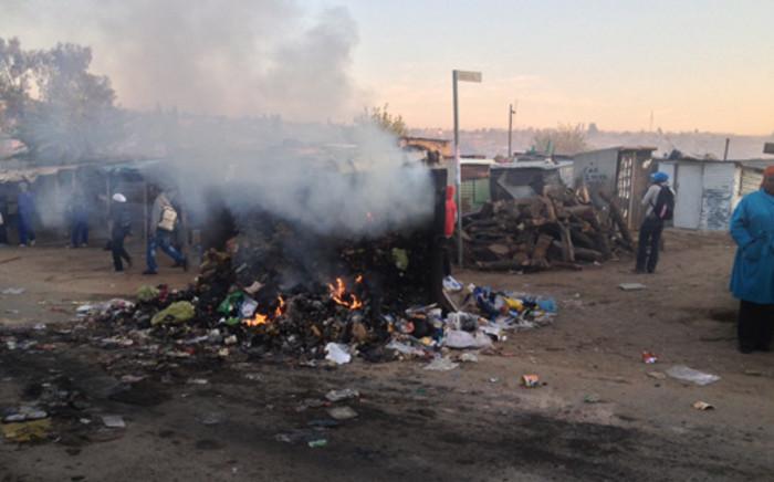 Two Zimbabweans were shot dead by a Somali shopkeeper in Diepsloot, Johannesburg. Picture: Govan Whittles/EWN.