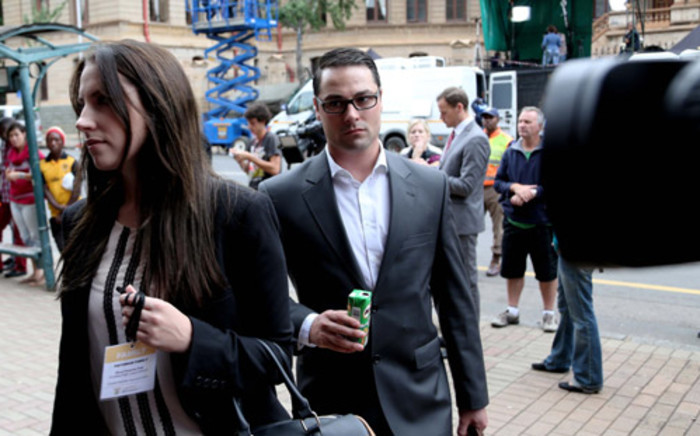 FILE: Carl Pistorius arrives at the North Gauteng High Court in Pretoria ahead of the fourth day of Oscar Pistorius trial on 6 March, 2014. Picture: Christa Eybers/EWN.