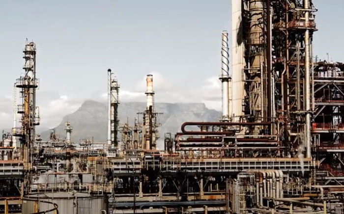 A YouTube screengrab of the Astron Energy refinery in Milnerton, Cape Town. Picture: Caltex South Africa/YouTube