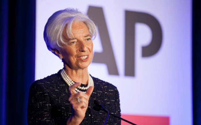 FILE: International Monetary Funds managing director, Christine Lagarde. Picture: Facebook.