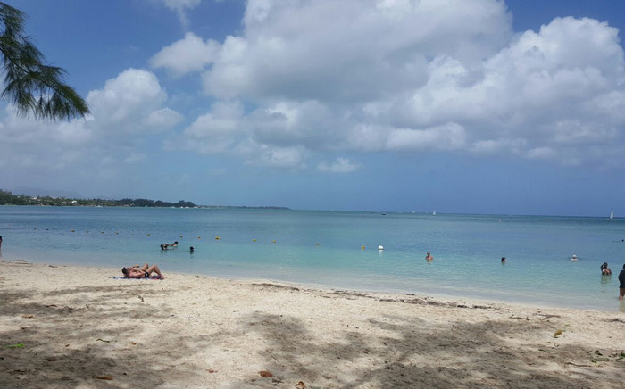 A general view of Mont Choisy Beach in Mauritius. Picture: Picture: Refilwe Pitjeng/EWN.
