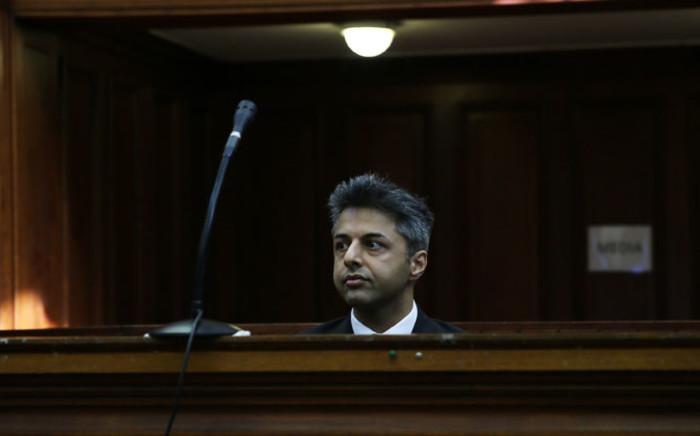 Shrien Dewani in the Western Cape High Court. Picture: Sapa.