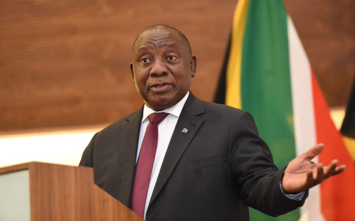 President Cyril Ramaphosa. Picture: @GovernmentZA/Twitter