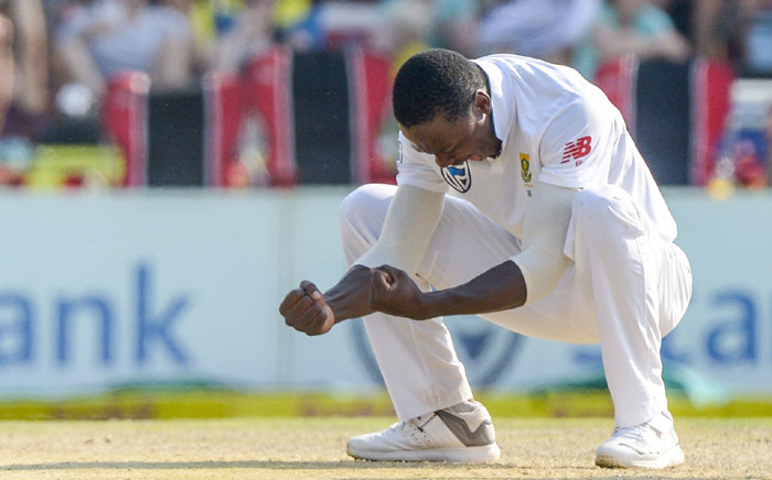 South Africa fast bowler Kagiso Rabada. Picture: @OfficialCSA/Twitter.