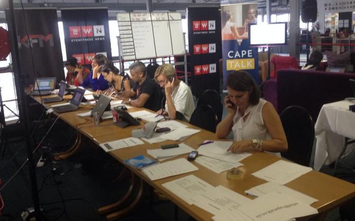 The Cape Talk and KFM #CapeFire radiothon has reached the R1 million mark. Picture: EWN