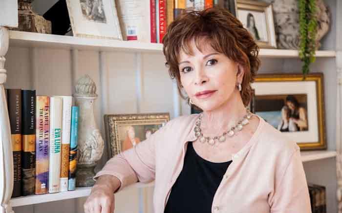 Isabel Allende. Picture: Lori Barra